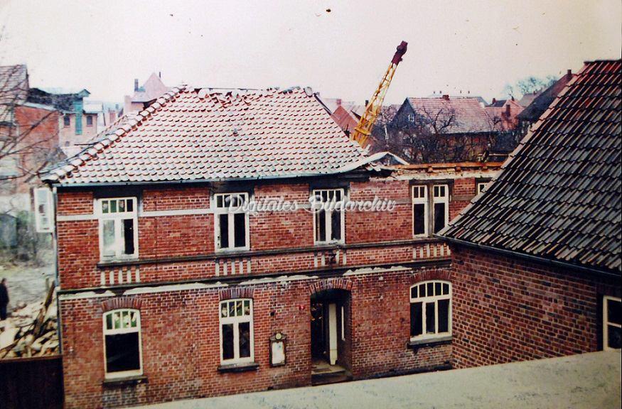 D0101b 0529-Bev-RathausstraßeAbriss Telschow-Haus 1969