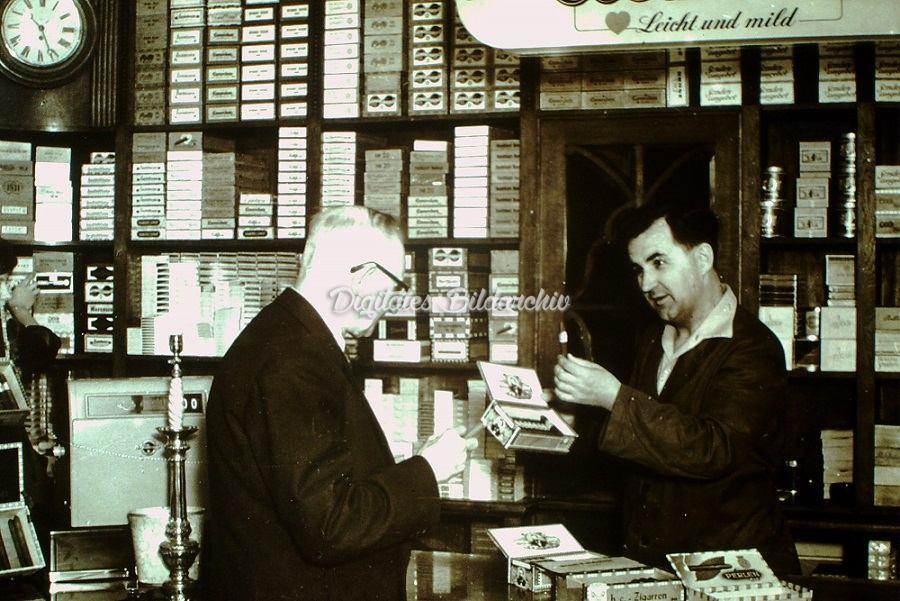 Kurt Streich übernahm das Tabakgeschäft 1954