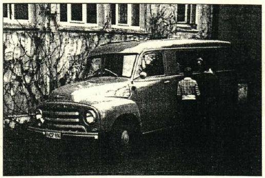 Der Übertragungswagen des NDR in Bevensen