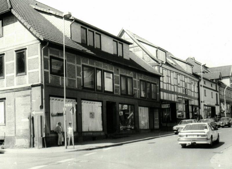 Eisenwarengeschäft Wilhelm Cohrs in der Brückenstraße nach 1973