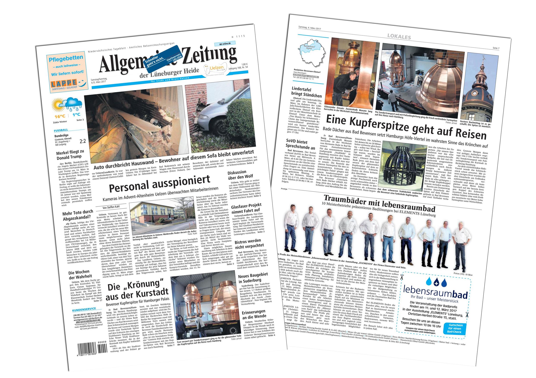 Die Az berichtet über die Arbeiten für das Hamburger Stadthaus