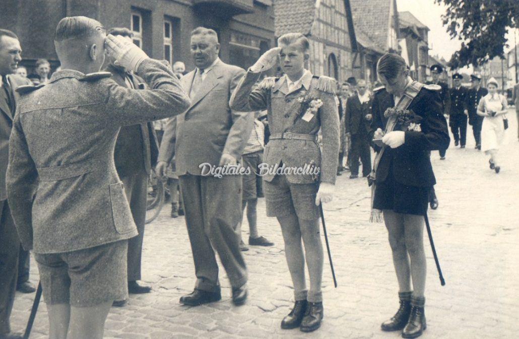 Kinderschützenfest Bevensen 1951